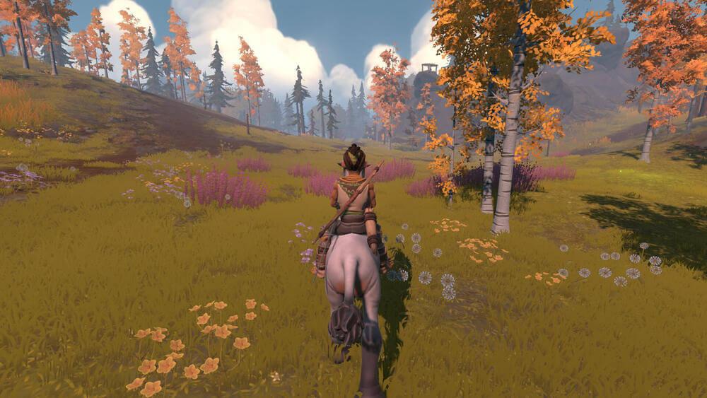 Główny bohater gry Pine w trakcie eksploracji