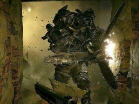 Miniboss Sturm z gry Resident Evil Village