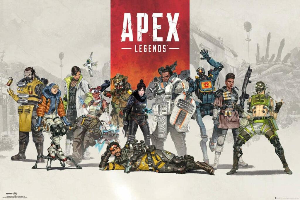 Grafika promocyjna gry Apex Legends