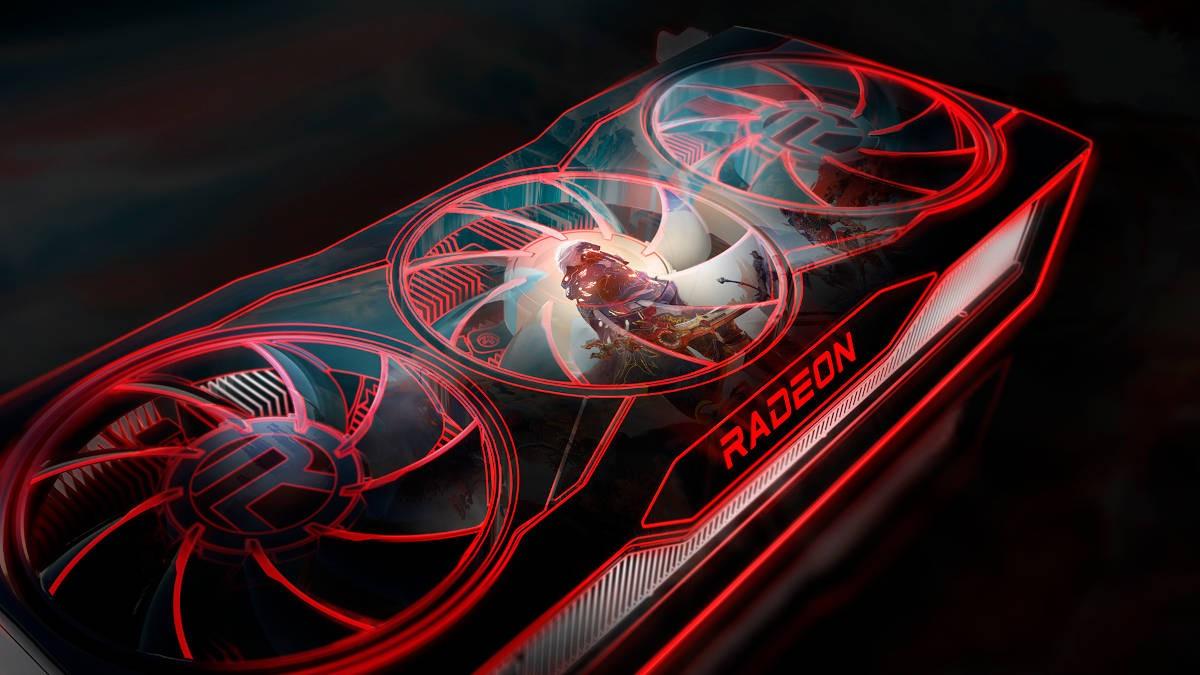 Materiał promocyjny karty graficznej AMD RX6000