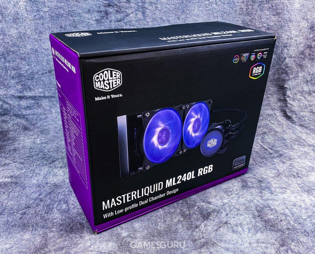 Test chłodzenia Master Liquid ML240L RGB