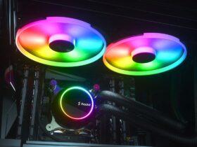 Podświetlenie RGB chłodzenia Fractal Design Celsius+ S28 Prisma