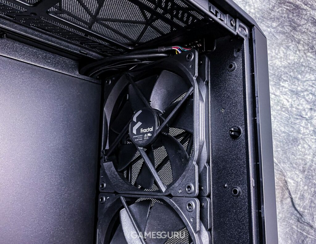 Przednie wentylatory Fractal Design Meshify 2