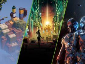 GeForce NOW - okładki nowych gier
