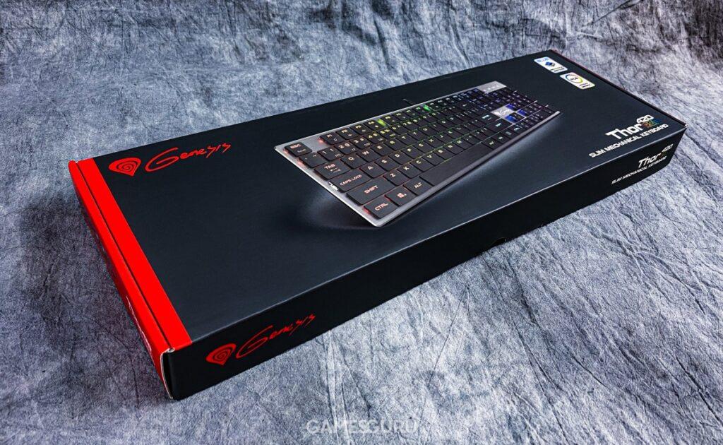 Opakowanie klawiatury Genesis Thor 420 RGB
