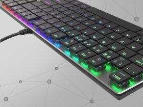 Test Genesis Thor 420 RGB - grafika przedstawiająca produkt