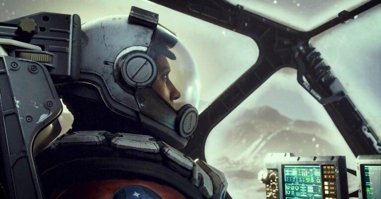 Starfield - astronauta z gry