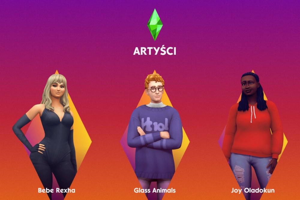 The Sims 4 - artyści w Sesjach Simów