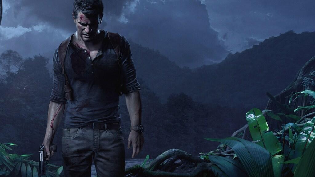 Nathan Drake główny bohater z gry Uncharted 4: Kres Złodzieja