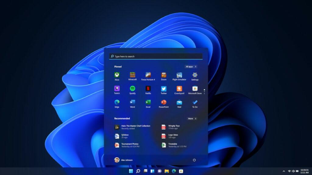 Tryb ciemny w Windows 11