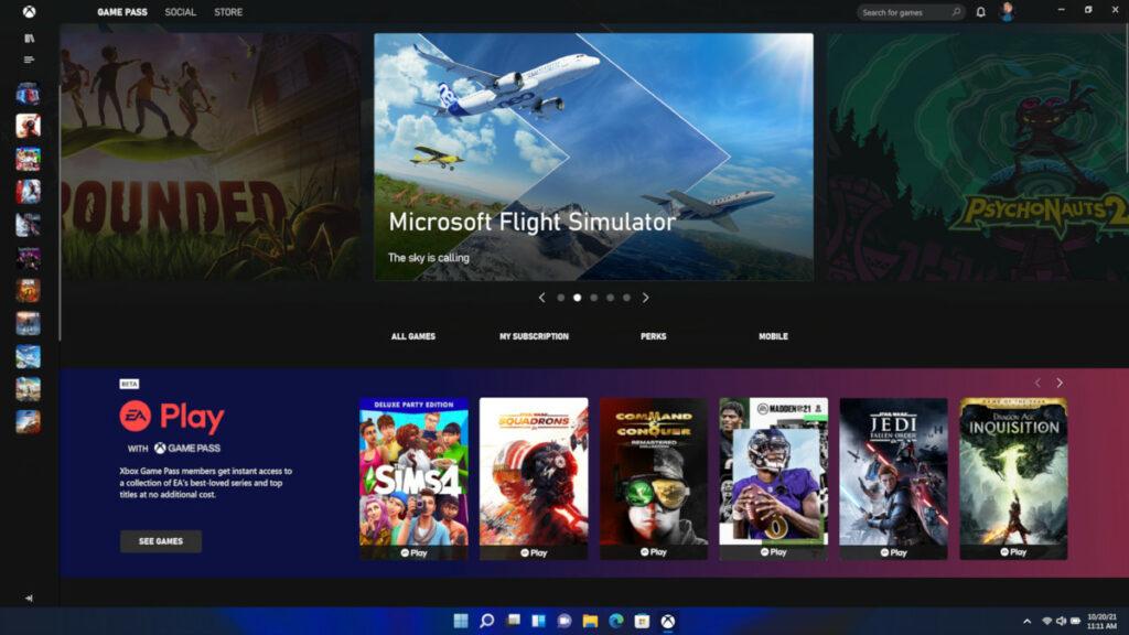 Przebudowana aplikacja Xbox