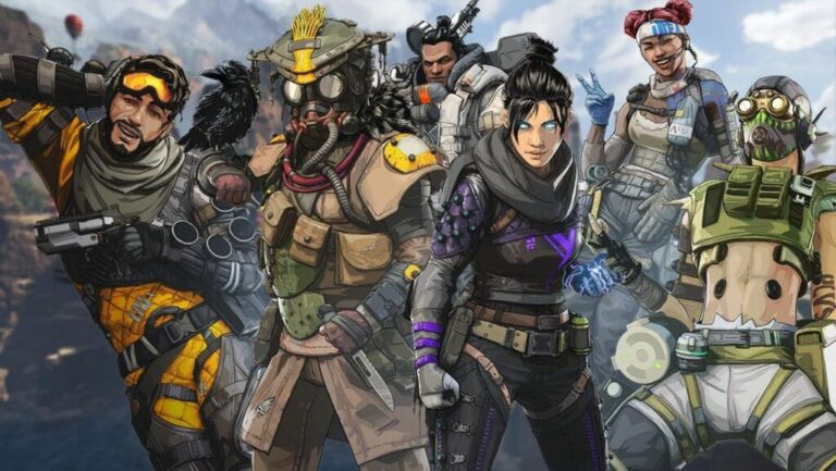 Bohaterowie z gry Apex Legends