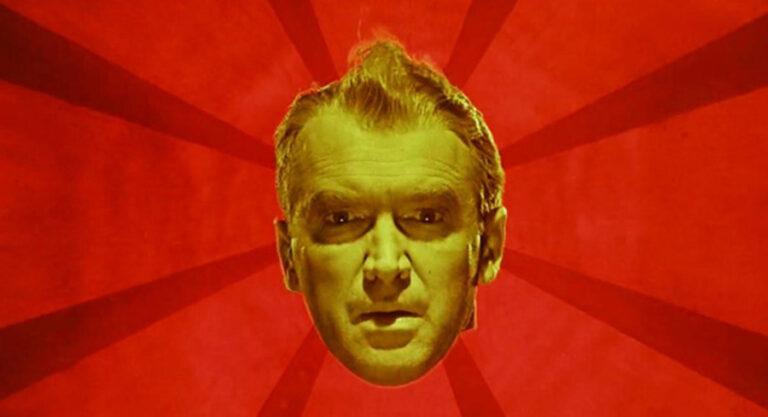 Kadr z filmu Zawrót głowy Alfreda Hitchcocka