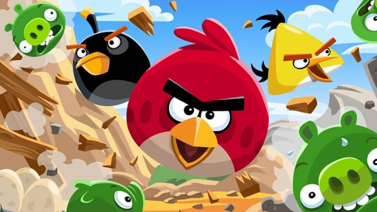 Artwork z gry Angry Birds