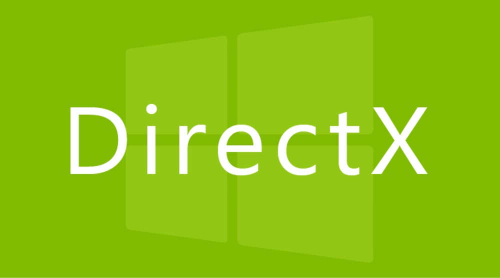 DirectX 12 Windows 10 - logotyp