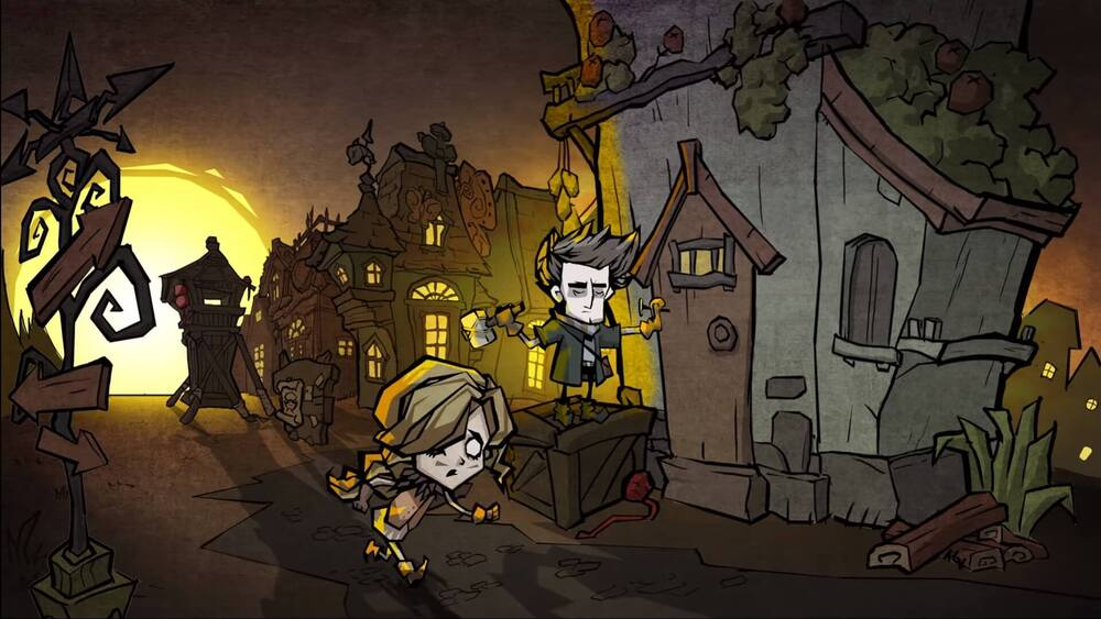 Bohaterowie Don't Starve: Newhome