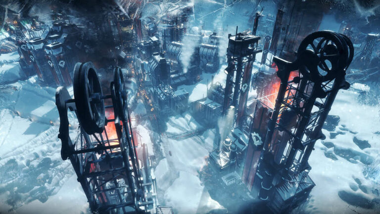 Budynki w grze Frostpunk