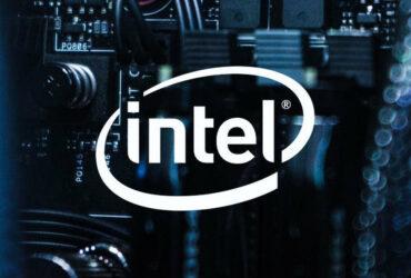 Logo firmy Intel