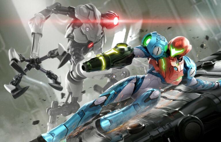 Artwork z gry Metroid: Dread
