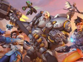 Grupa bohaterów z Overwatch