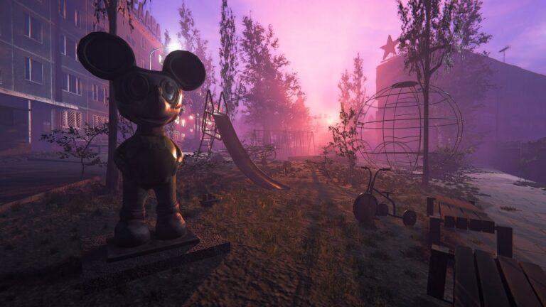 Chernobyl Liquidators - krajobraz z gry