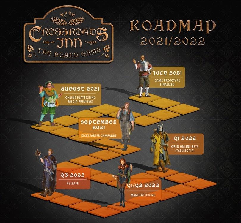 Mapa planów twórców gry