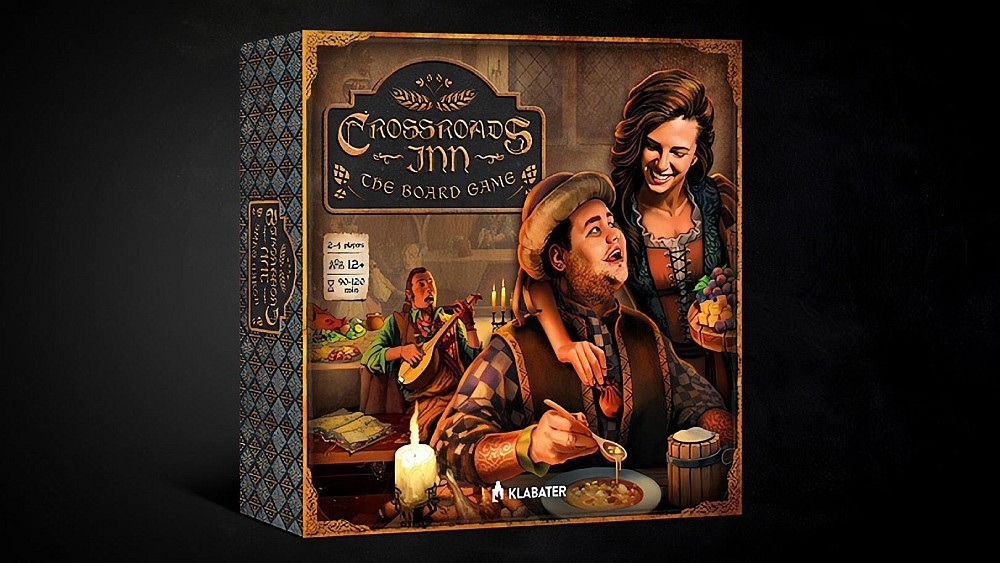 Gra planszowa Crossroads Inn - pudełko