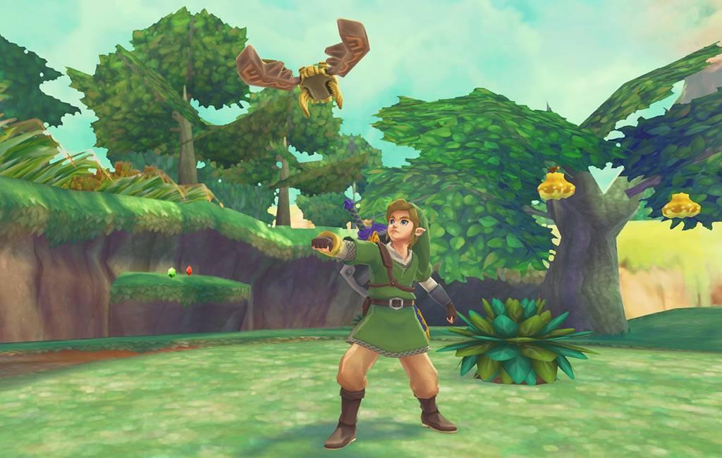 Link w The Legend of Zelda: Skyward Sword HD
