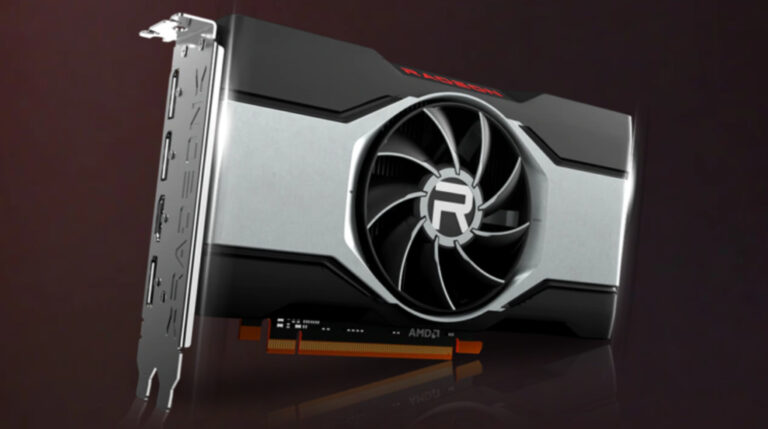 Wygląd karty graficznej AMD Radeon 6600 XT