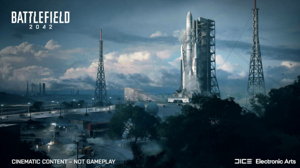 Jedna z map w Battlefield 2042