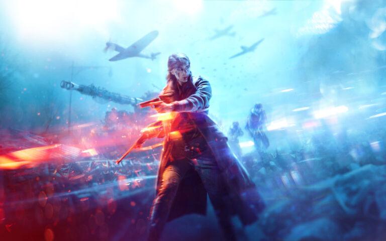 Bohater z gry Battlefield