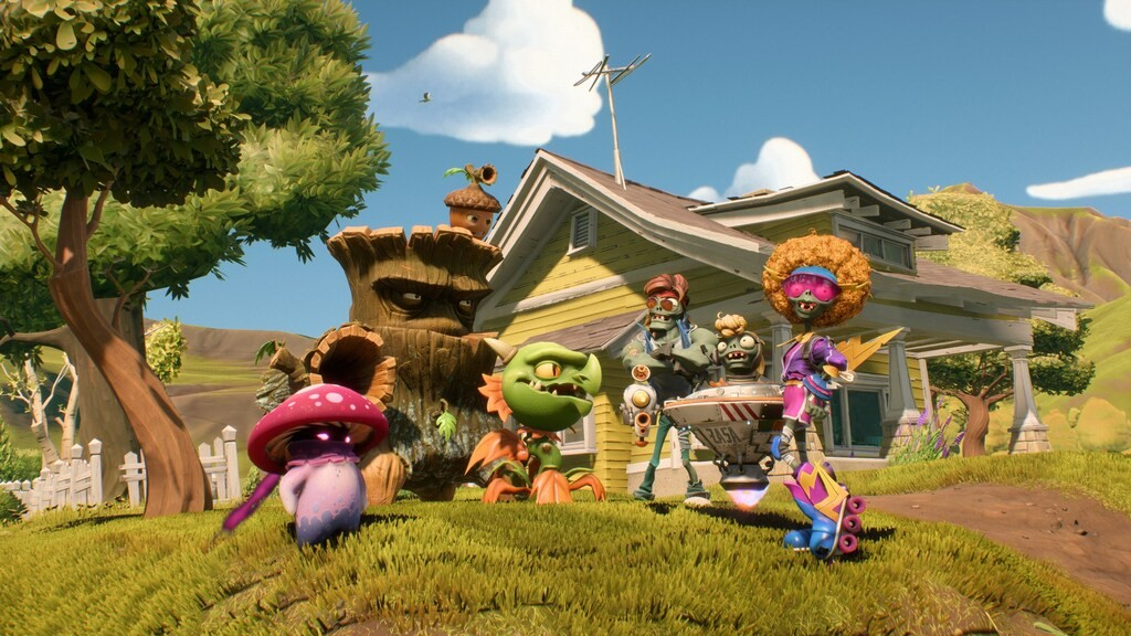 Postacie z gry Plants vs. Zombies: Battle for Neighborville