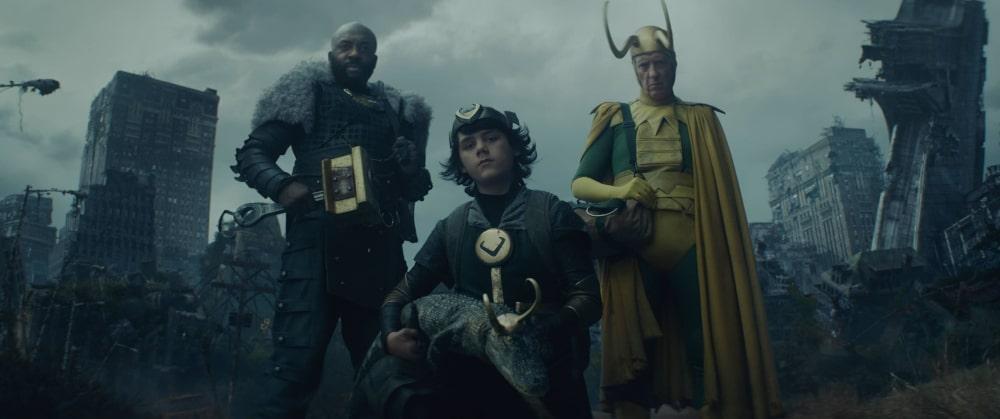 Trzy alternatywne wersje Lokiego