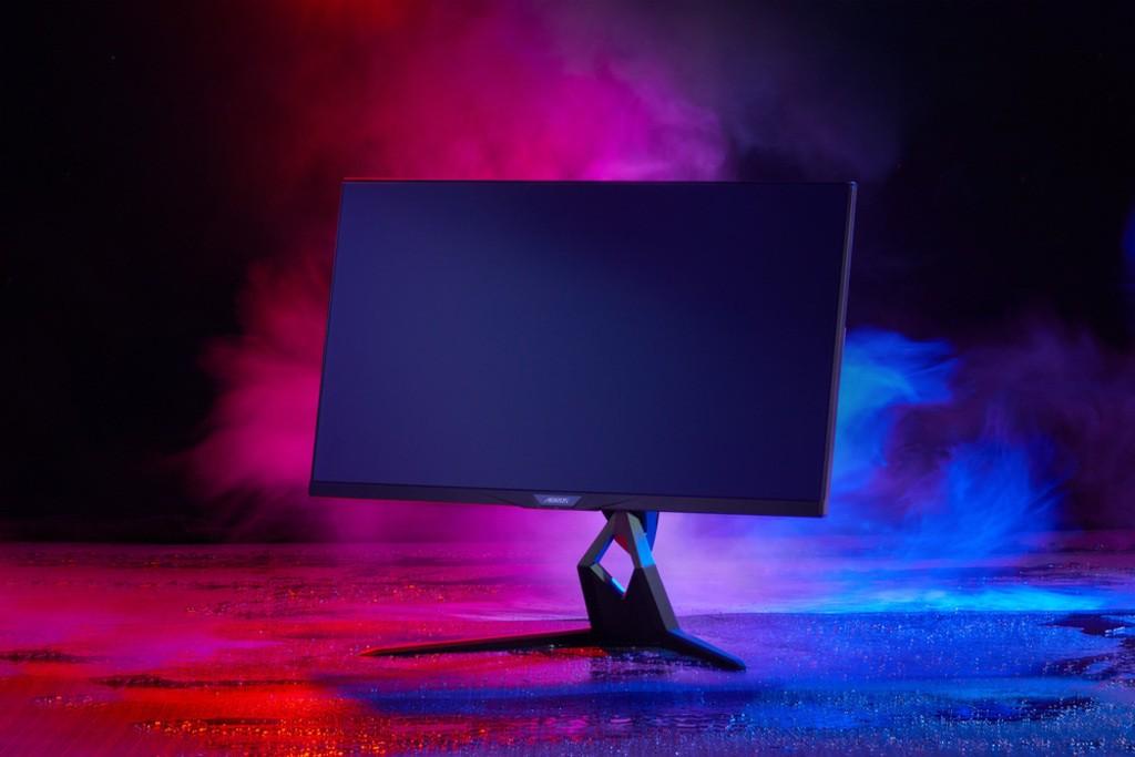 Wygląd monitora Gigabyte Aorus FI32U