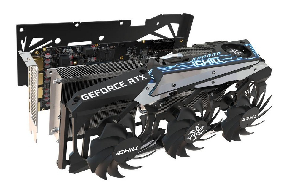 GPU rozłożone na części
