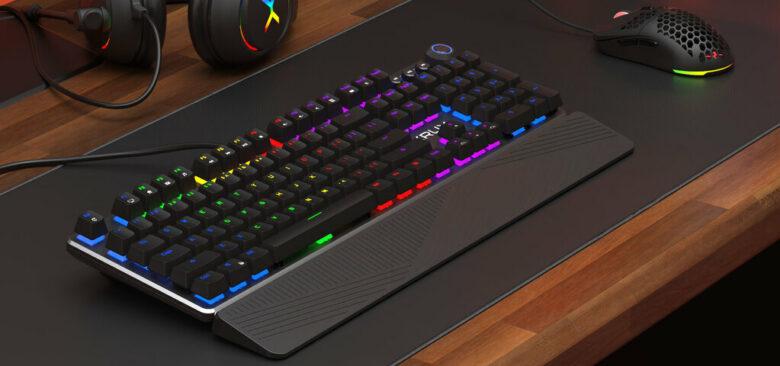 Wygląd klawiatury KRUX Crato RGB