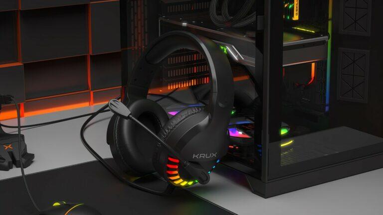 Wygląd headsetu KRUX Fizz RGB