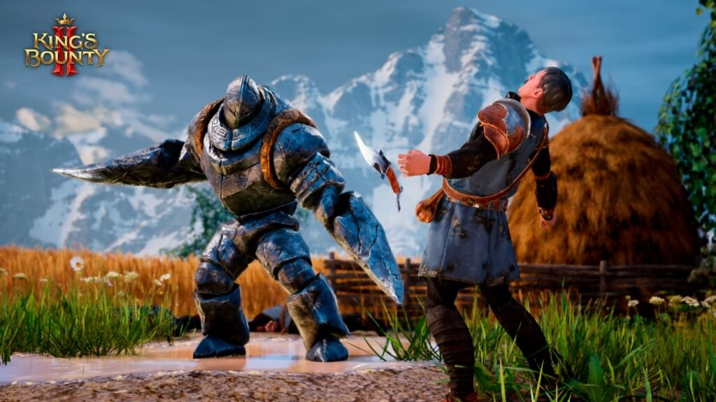 Dwie walczące postacie w King's Bounty II
