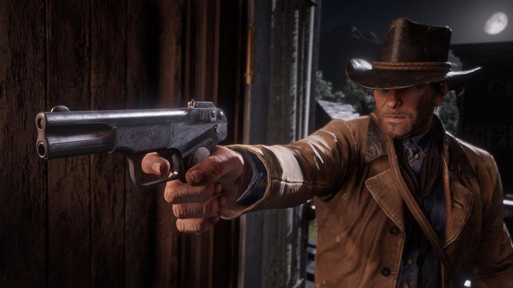 Rozgrywka w Red Dead Redemption 2