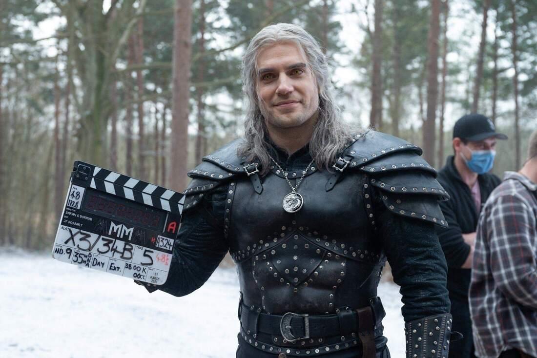 Henry Cavill jako Geralt w serialu Wiedźmin