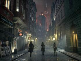 Lokacja z gry Vampire: The Masquerade - Bloodhunt
