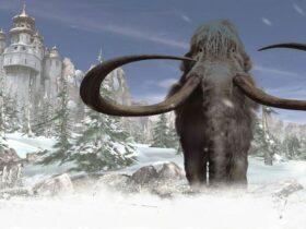 Mamut z gry Syberia