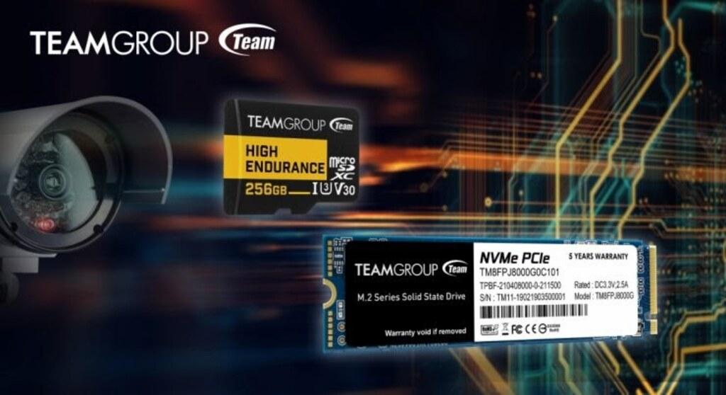 Prezentacja dysku i karty pamięci od TeamGroup
