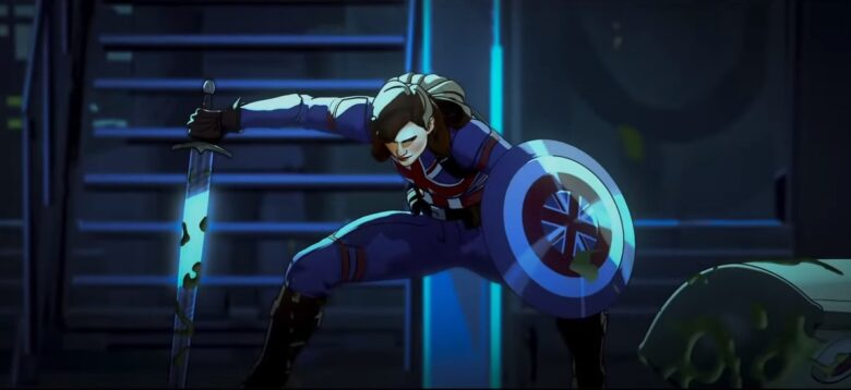 Peggy Carter w serialu What if...? Marvela