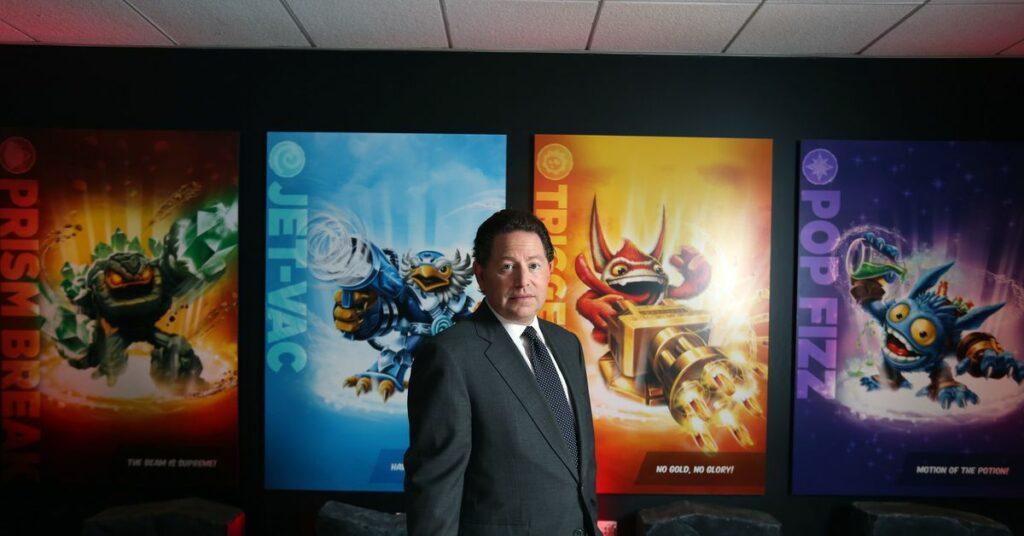 CEO Activision-Blizzard Bobby Kotick