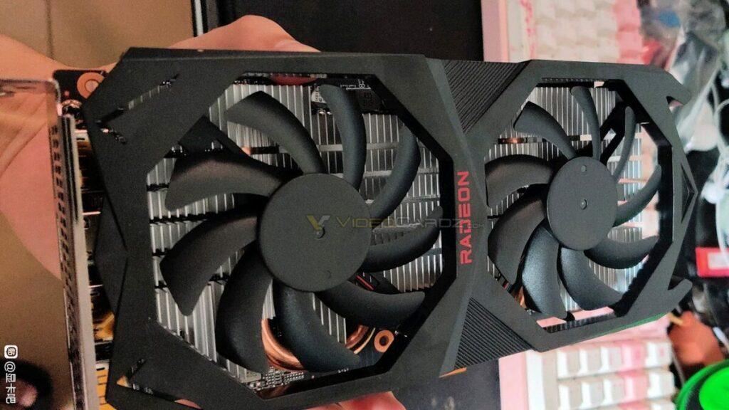 Zdjęcie karty graficznej AMD Radeon RX 6600 XT
