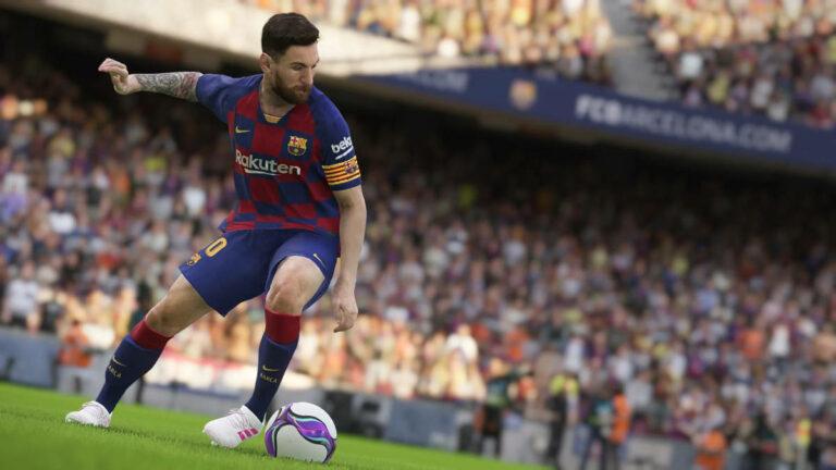 Screenshot z gry eFootball PES 2020