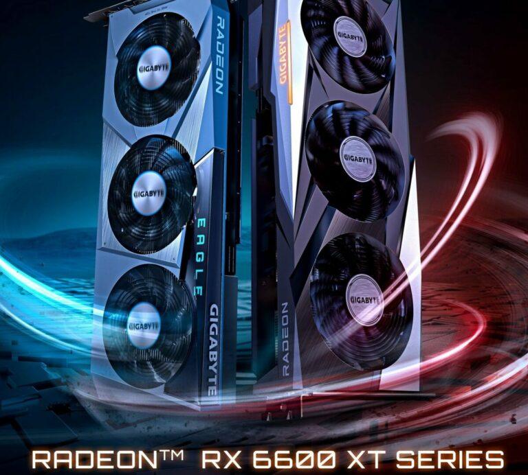 Niereferencyjne Radeony RX 6600 XT od Gigabyte