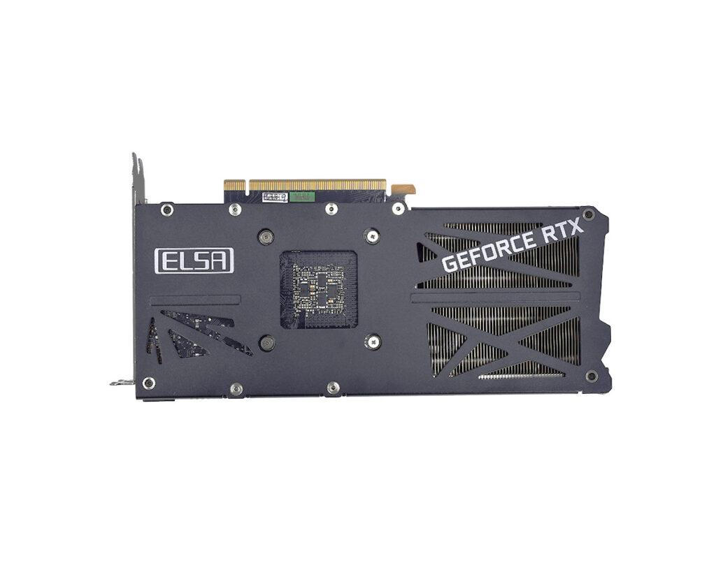 Backplate Elsa RTX 3060 SAC/L