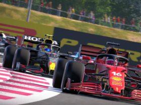 Screen z gry F1 2021